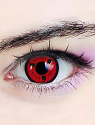 Naruto Kakashi Hatake Sharingan Cosplay Contact Lenses(1 Pair)