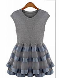 nuevo vestido de encaje de organza europeo sexylady