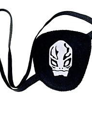 Máscara Inspirado por Katekyo Hitman Reborn! Fantasias Anime Acessórios de Cosplay Máscara Preto Malha polar Feminino