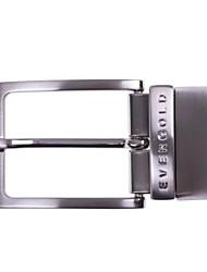evergold® axe de la mode de la boucle des hommes (utiliser les deux côtés de la ceinture)