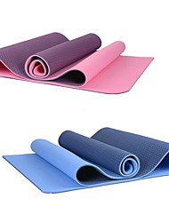 aimida - extra longa eco-friendly tpe yoga pilates mat (6mm)