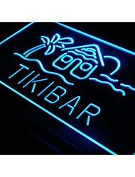 S030 bar tiki maison pub Club signe un nouvel éclairage au néon