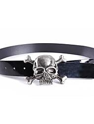 ICED™ Women's Fashion Skull Chain PU Belt
