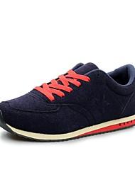 Chaussures homme ( Noir/Bleu marine ) - Toile - Marche