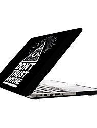 Don't Trust Anyone Design Full-Body Protective Plastic Case for 13-inch/15-inch MacBook-Pro with Retina Display