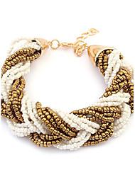 European Style Bohemia Beads Weave Strand Bracelet