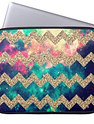 """Elonbo Bohemian Stars and Stripes 13"""" Laptop Neoprene Protective Sleeve Case for Macbook Pro/Air Dell HP Acer"""