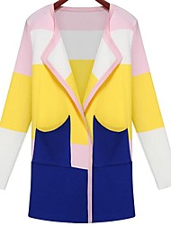 correspondance des couleurs tricot chandail à manches longues des femmes