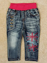 Boy's Cotton Jeans , Winter/Spring/Fall