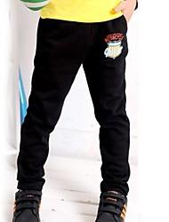 pantalones casuales de la moda de algodón del muchacho