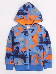hoodies das crianças revestimento revestimentos camisolas de inverno menino animais global impresso hoodies do bebê impressão aleatória