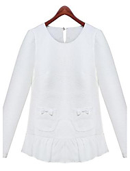 Women's White Blouse Long Sleeve