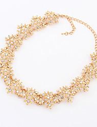 Masoo Women's Fashional Inlay Diamond Necklace