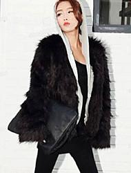 de las mujeres Baoli moda de invierno de piel de época capa 636 #
