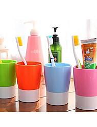 copo doces multifuncional cor escova de dentes (cor aleatória)