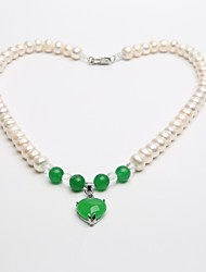 Women's Pearl Necklace Wedding/Birthday/Party/Daily Pearl