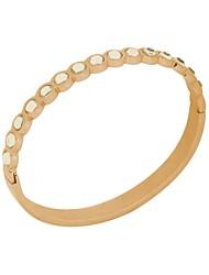 Roestvrij Staal Dames Cuff armband Armbanden Bergkristal