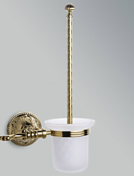 Antique Wall-mounted Toilet Brush Holder (Ti-PVD Finish)