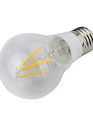 4W E26/E27 LED Globe Bulbs 4 COB 400 lm Warm White Decorative AC 85-265 V