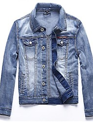 The Couple a Denim Jacket