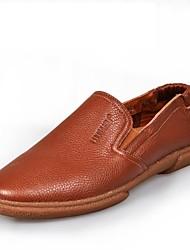 Dazhongjie ® Men's Shoes Comfort Flat Heel Leather Fshion Sneaker Shoes More Color Available