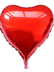 10 Inch Purple Heart Aluminium Membrane Valentine's Day Party Balloon