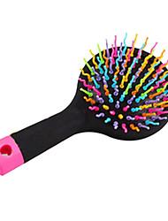 Magic Hairbrush Massage Anti-Static Brush For Hair Tangle Brush Comb With Mirror
