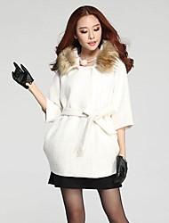 пять целых рукав пальто плащ пальто женщин