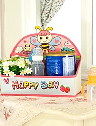 pliage multifonctionnel boîte oxford tissu de stockage de bureau d'abeille