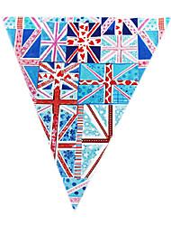 o padrão de bandeira de união do partido acessório bandeira
