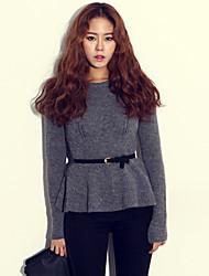 coreano camisola malhas cabido das mulheres qianyun