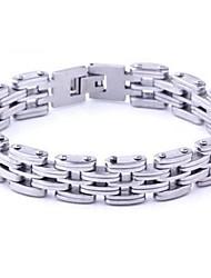 pulseiras de emenda de aço titânio moda personalidade dos homens