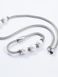Jewelry-Necklaces / Bracelets & Bangles(Titanium Steel)Daily / Casual Wedding Gifts