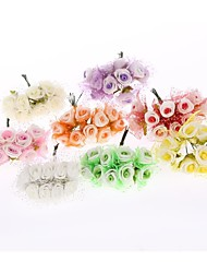 Manual Accessories Yarn Tinted Handmade DIY Dried Flower Flower Set of 20