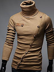 George Men's Foreign Trade Wholesale Fashion Korean Slim High Collar Multi-button Shirt
