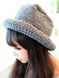 Frauen leichte Abweichungen Strick Eimer Hut