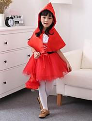 Little Red Riding Hood Organza Kid's Halloween Costume
