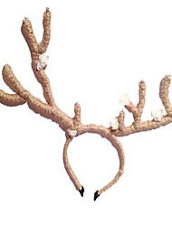 le style Deerhorn avec de la laine de fleurs occasion / bandeau spécial de stade