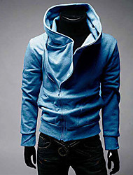 BIGMAN Men's Long Sleeve Slim Fashion High Neck Causual Sweatshirts