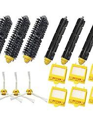 Hepa Filters & Bristle Brush & Flexible Beater Brush & 3-Armed Side Brush Pack Mega Kit for iRobot Roomba 700 Series