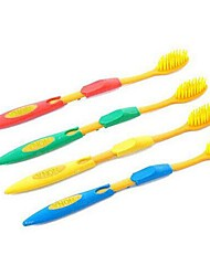 4 PCS Nano Material Soft Toothbrush(Random Color)