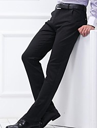 Men's Casual   Pants Pure Polyester Pants