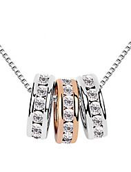 sophie Frauen drei Schleifen Halskette