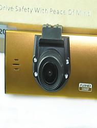 2,7 polegadas full hd sensor de 1080o CMOS 3MP carro DVR com visão noturna e atualizar tela LCD de chip