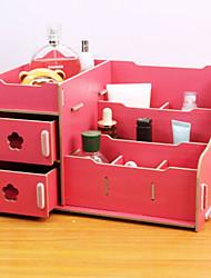 1pcs caixa de armazenamento de cosméticos área de trabalho