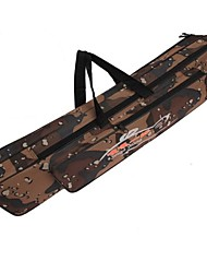 120cm Fishing Rod Bag Multifunctional Camouflage Double Layer Outdoor Fishing Bag