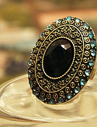 Women's Alloy Ring With Moonlight