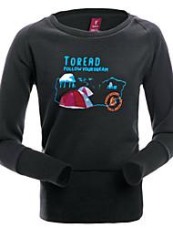 Moletom/Jaquetas em Velocino ( Cinzento/Preto ) - deEsqui/Acampar e Caminhar/Caça/Pesca/Alpinismo/Skate/Fitness/Golfe/Corridas/Esportes