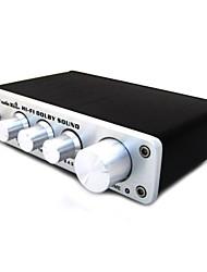 dolby surround sound processor voor usb dac decoderen voordat headset ondersteuning ASIO usb audio-versterker