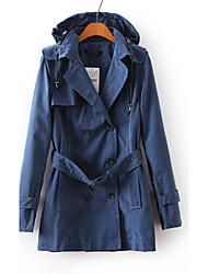 Women's Long Sleeve Elegant Coat